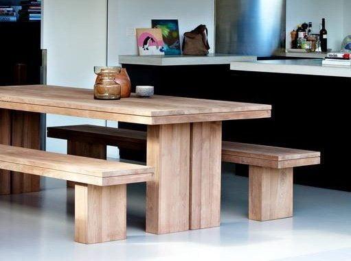 Teak Dining Table Modern Majesteak Furniture