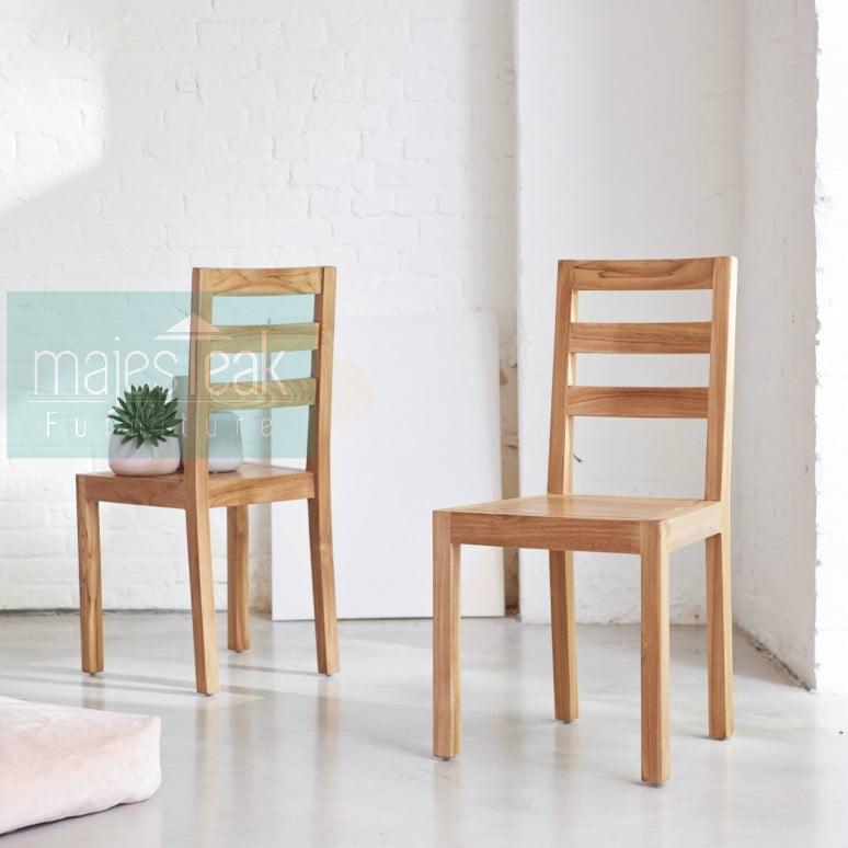 Teak Wood Dining Chair Alto Majesteak Furniture