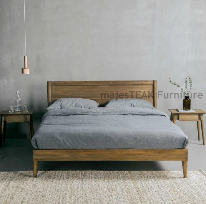 Teak Bed Frame Malaysia Vintage Bed Majesteak Furniture