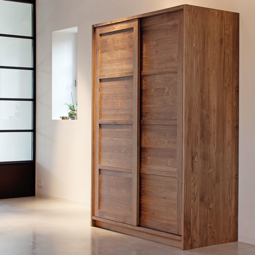 Teak Wood Wardrobe 2 Door Majesteak Furniture